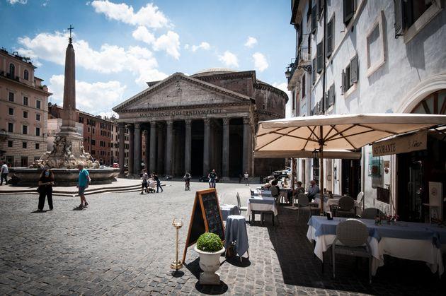 Restaurantes en el centro de Roma