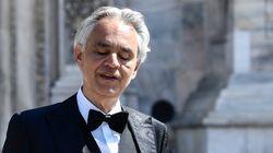 Bocelli dona il plasma: