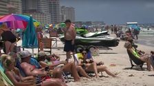 'If We Get It, We Get It': Beachgoers Belittle Coronavirus On Memorial Day Weekend
