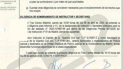 Informe íntegro del 8-M remitido por la Guardia Civil al