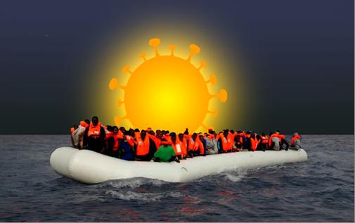 La UE en tiempos de COVID-19: fronteras, migraciones,