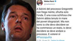 Quando Renzi voleva il processo per Salvini sul caso