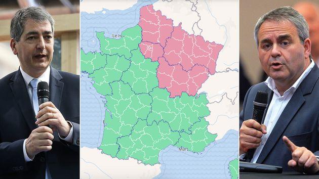 Jean Rottner (à gauche) et Xavier Bertrand ont écrit à Édouard Philippe pour lui demander de faire passer...