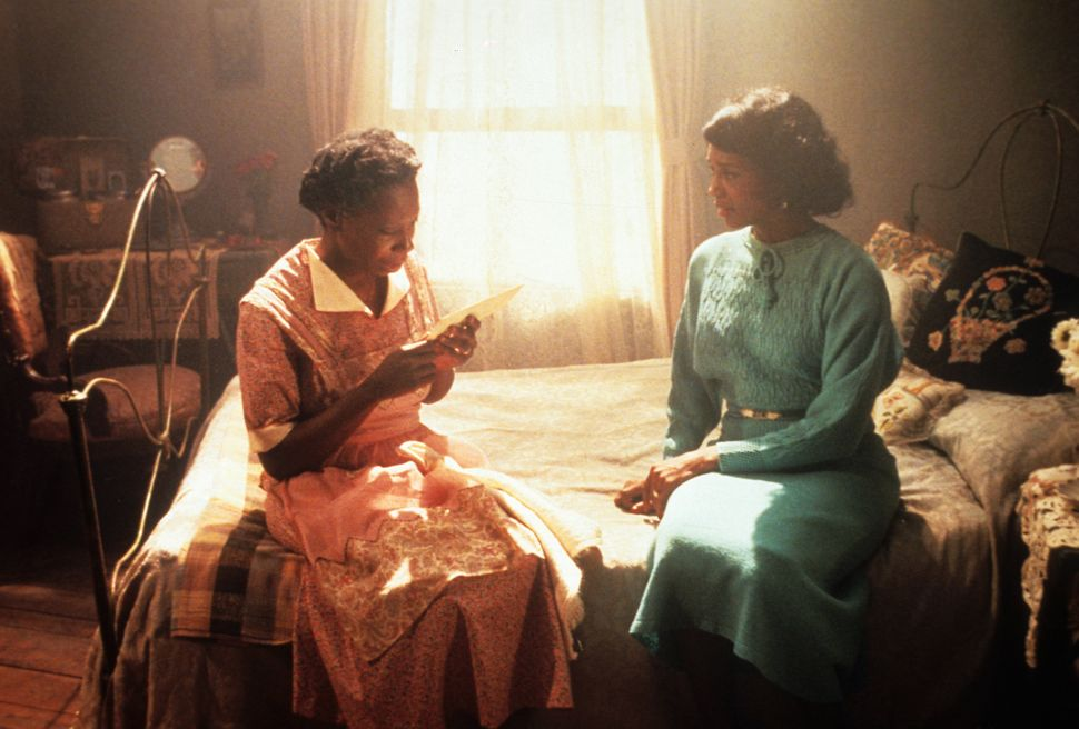 Whoopi Goldberg and Margaret Avery in