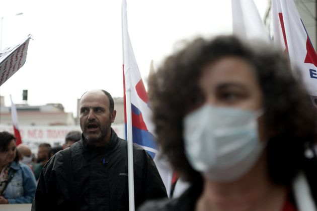 Πανεκπαιδευτικό συλλαλητήριο στο κέντρο της Αθήνας παρά την