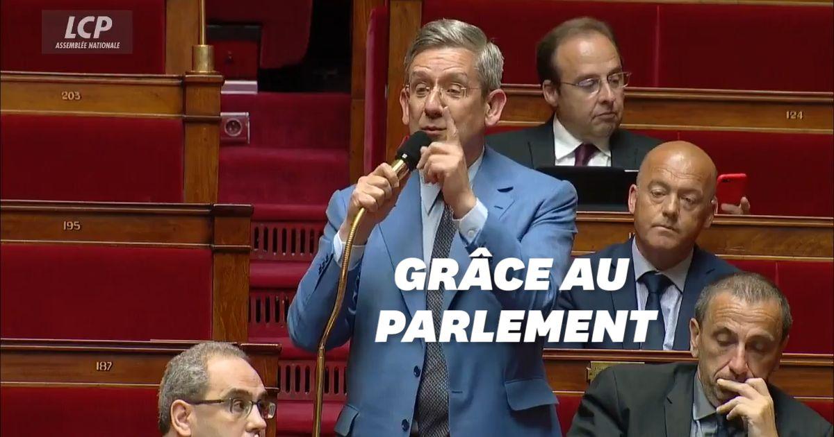 Ému aux larmes, ce député rend hommage à son collègue à l'origine de la proposition de loi sur le deuil parental