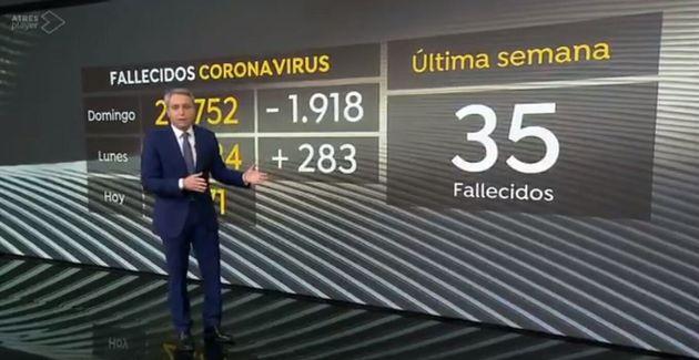 Vicente Vallés, en Antena 3