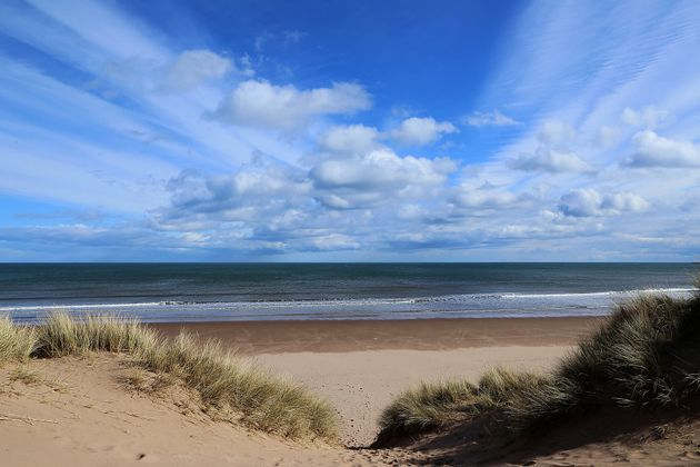 Lunan Bay, Scotland