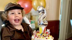 UPS-Obsessed Toddler Has The Best Birthday
