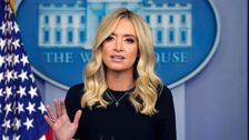 Kayleigh McEnany: 'Peculiar' That Joe Biden Doesn't Wear Mask In His Home