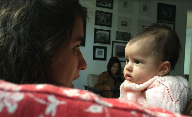 Helena Gaia e bebê
