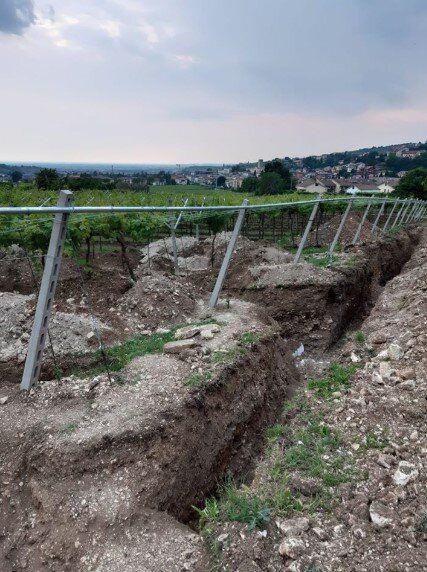 Sotto le vigne della Valpolicella viene alla luce villa roma