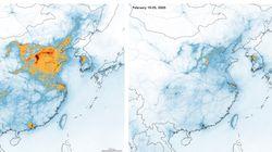 세 달 만에 원상복귀된 중국 대기 상황
