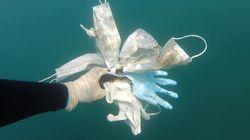 Οι μάσκες και τα γάντια δεν κατέληξαν μόνο στα σκουπίδια αλλά και στη