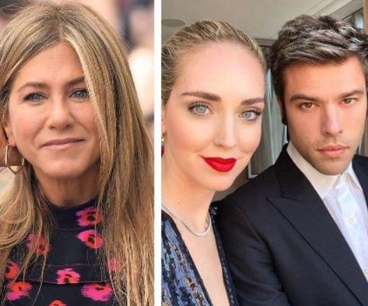 """Jennifer Aniston in tendenza su Twitter per un like a Fedez"