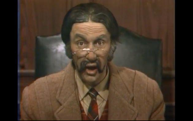 Yves Létourneau a incarné le personnage du majorPlum Pouding de 1969 à