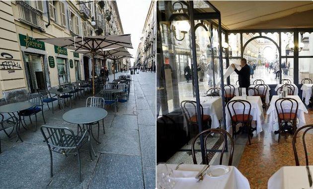 Fase 2 flop: bar e ristoranti perdono 70 euro su 100 rispett
