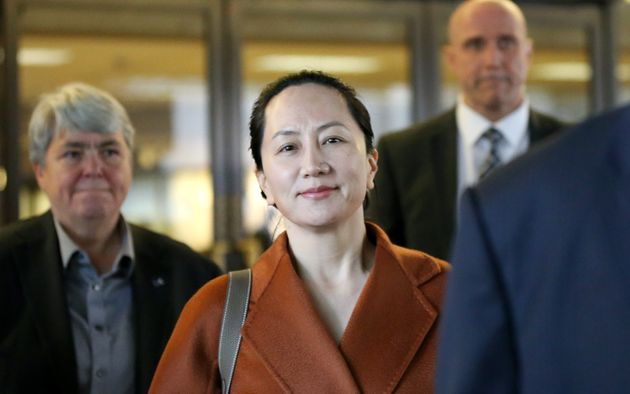 Huawei chief financial officer Meng Wanzhou leaves the British Columbia Superior Courts in Vancouver...