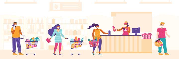 Les produits de grande consommation représentent le monde d'avant dont nous sommes nostalgiques en période de confinement/déconfinement. Ils renvoient aux notions de plaisir, de liberté, de convivialité, mais également au souvenir d'un mode de vie passé.