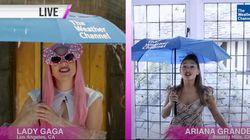 Δελτίο καιρού με την Lady Gaga και την Αριάνα Γκράντε: Η βροχή και το ανατρεπτικό