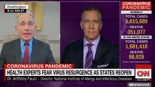 Fauci Says Coronavirus Second Wave 'Is Not Inevitable,' Stresses CDC Guidelines