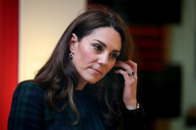 Catherine, the Duchess of Cambridge, visits Dundee, Scotland, to open the V&A Dundee on Jan. 29,