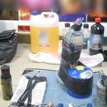 Συνελήφθησαν την ώρα που έβαζαν γκαζάκια στο σπίτι του πρώην υπουργού, Δημήτρη