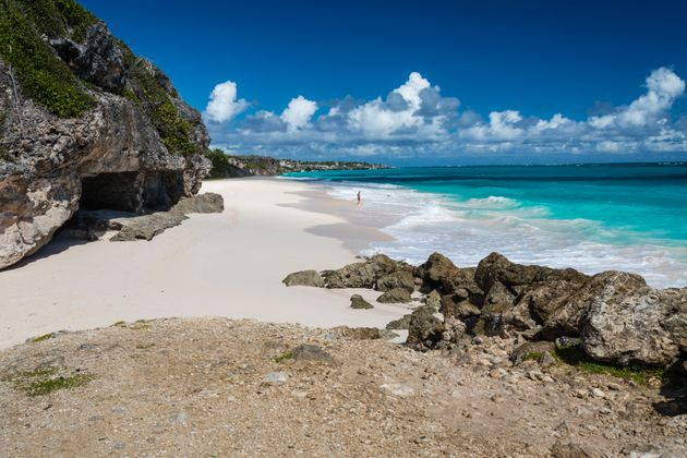 Crane Beach, Caribbean island of Barbados