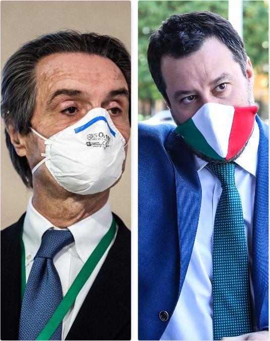 Attilio Fontana e Matteo