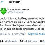 La madre de Pablo Iglesias responde Álvarez de Toledo, a la que llama