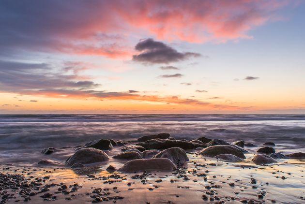 Skallerup Strand Beach, Lønstrup, Denmark