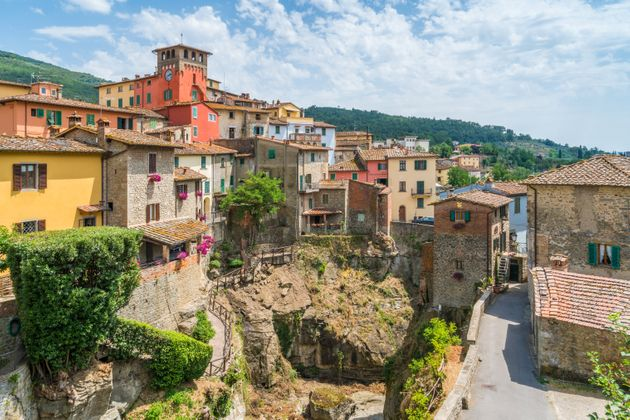 Loro Ciuffenna village,Tuscany, Italy