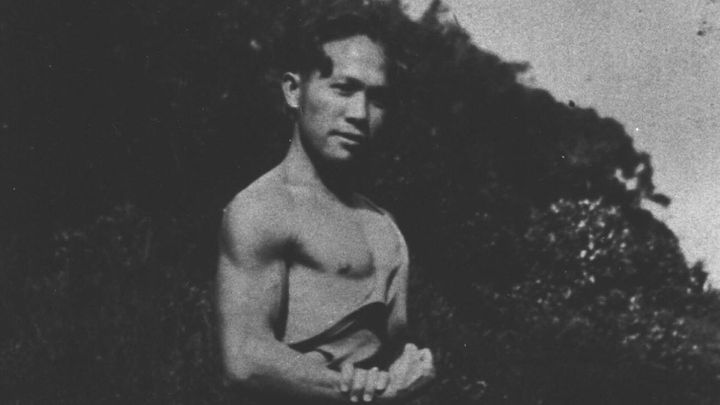 Director Anthony Banua-Simon's great-grandfather Albert Banua as a young man in the 1930s.
