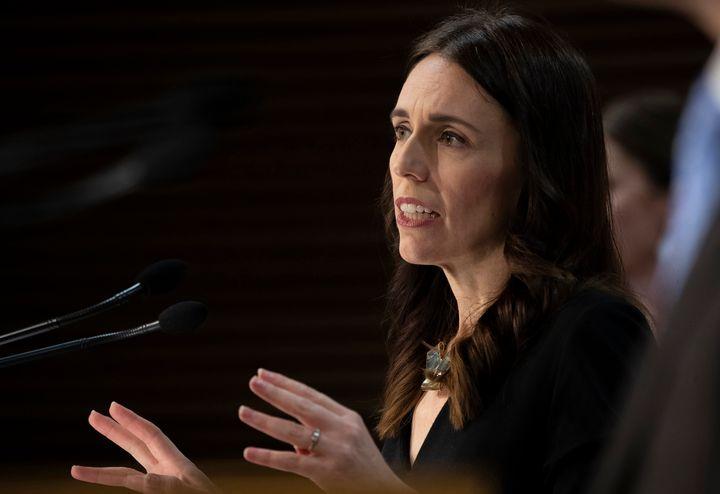 New Zealand Prime Minister Jacinda Ardern. (Mark Mitchell/New Zealand Herald, Pool via AP)