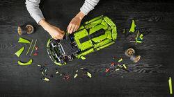 Lego lança réplica de supercarro Lamborghini com 3.969