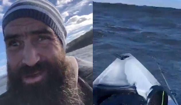 Kayaker Live Streams Haunting Last Moments In Rough Australian