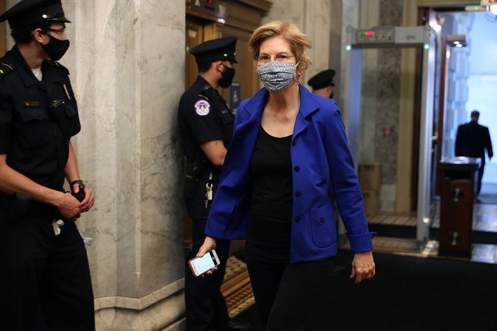 Sen. Elizabeth Warren and other Democrats say OSHA has fallen down on the job.