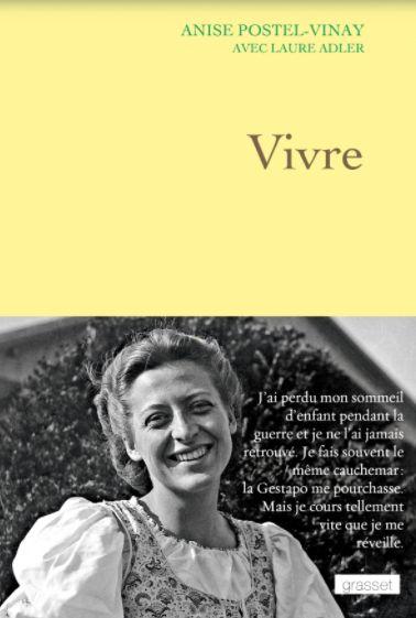 La résistante Anise Postel-Vinay, déportée en Allemagne avec Germaine Tillion lors de la Seconde Guerre mondiale, est décédée à Paris à l'âge de 97 ans.Née Anise Girard le 12 juin 1922 à Paris, elle s'engage adolescente dans la Résistance, encouragée par sa mère, et fournit des renseignements militaires au sein du réseau Gloria SMH . En août 1942, elle est arrêtée par la Gestapo pour faits de résistance, alors qu'elle n'a que 19 ans. Après la Libération, elle s'est consacrée à l'écriture de l'histoire de la déportation.>>> Lire notre article complet ici