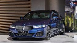 BMW가 한국에서 신형 5시리즈를 최초로 공개한
