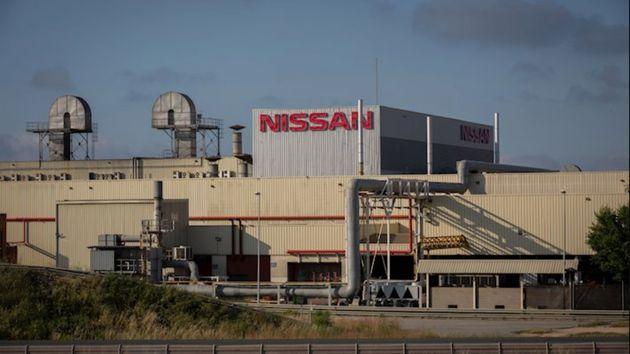 Exterior de la fábrica de Nissan en la Zona Franca de