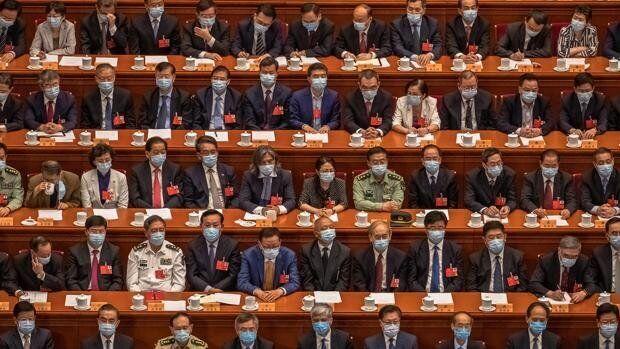 El Parlamento chino en una imagen de