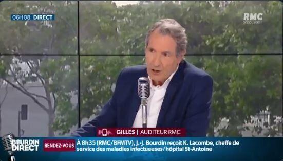Jean-Jacques Bourdin assume son excès de vitesse sur RMC, jeudi 28