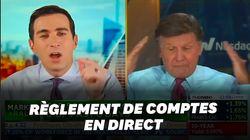 On a rarement vu une telle dispute entre présentateurs en direct, même à la télévision