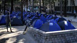 À peine installé à la Villette, un campement de migrants