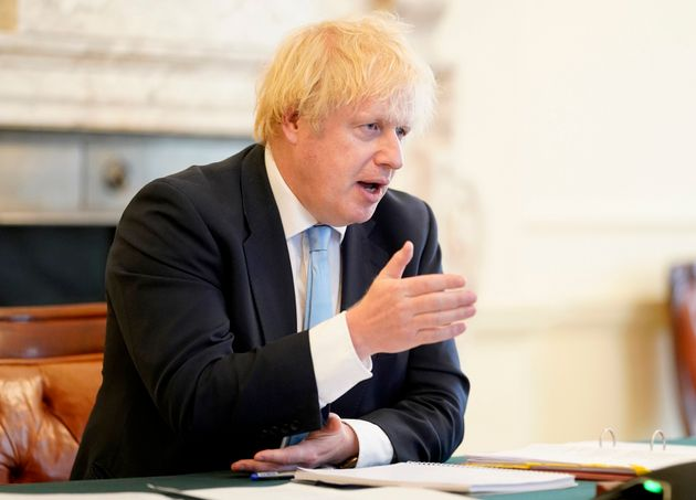 Boris Johnson, ici au 10 Downing Street à Londres le 27 mai