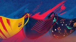 Nueve equipos de fútbol que venden mascarillas con sus colores y su