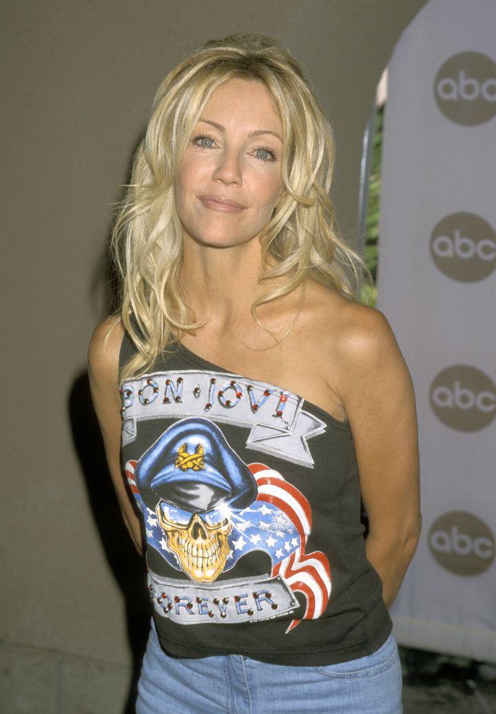 Heather Locklear during 2000 ABC Summer Press Tour at Ritz Carlton Hotel in Pasadena, California.