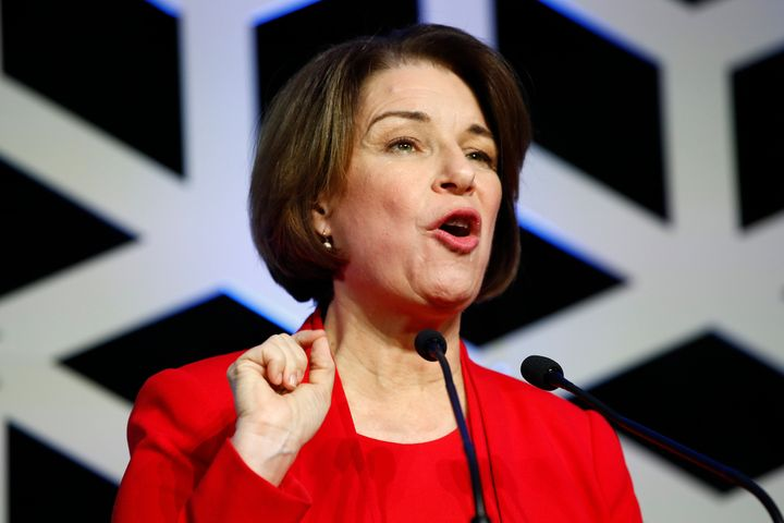 As county attorney in Hennepin County, Amy Klobuchar had a tense relationship with the Black community for her refusal to bri