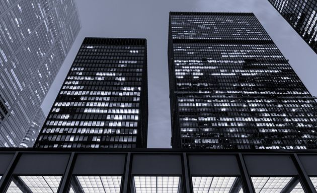 The buildings of the Toronto-Dominion Centre in Toronto's financial district are seen in this undated...