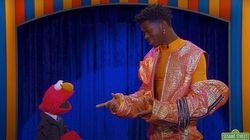 Lil Nas X Turns 'Elmo's Song' Into A Banger On 'The Not-Too-Late